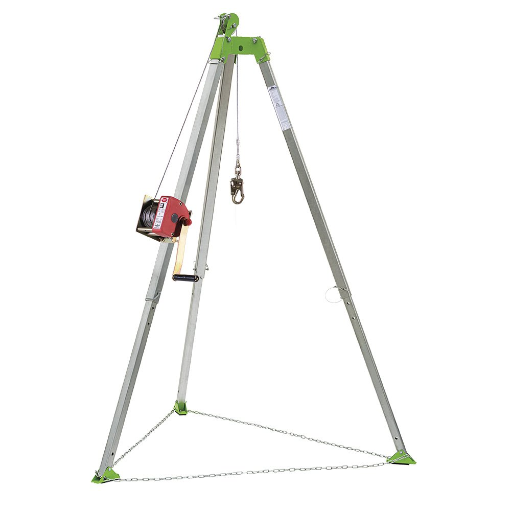 Peakworks Fall Protection V85025 Confined Space Kit - Tripod, 65 ft. Man Winch and Bag