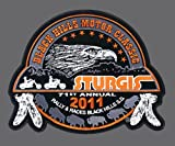 eagle feather fan - STURGIS RALLY 2011 EAGLE FEATHER 12 INCH BIKER PATCH for Accessories - Bags/Purses, Apparel - Coat/Jacket, Apparel - Jeans/Pants, Children, Crafts