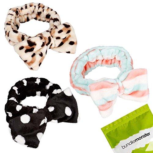 Ultra Washing Elastic Towel Headbands product image