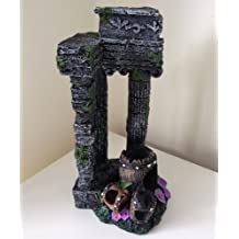 Aquarium Fish Tank Ornament Decoration - Columns Ancient Ruins