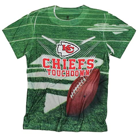Kansas City Chiefs TOUCHDOWN NFL Youth T-Shirt (Chiefs T Shirt Youth)
