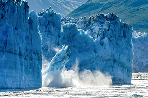 Pictures of Alaska and Hubbard Glacier/Disenchantment Bay | Fine Art Landscape Photographs | Home Decor Pictures for Living Room/Bedroom/Office with a Blue - Fine Art Alaska