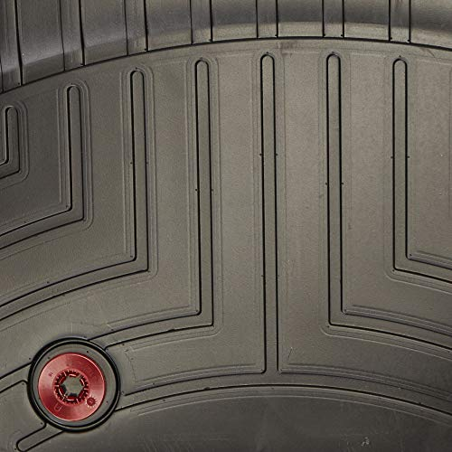WeatherTech Custom Fit Front FloorLiner for Toyota Tundra, Black