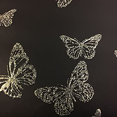 Butterfly Wallpaper With Sparkles