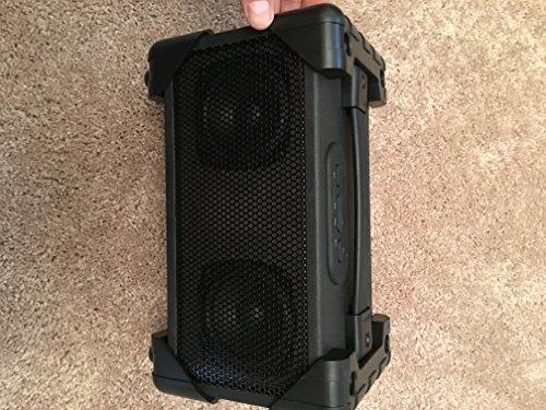 Vivitar V143BT-BLK Bluetooth Retro Boom Box Speaker, Black
