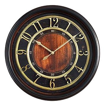 Vinteen Reloj de pared europeo retro reloj de pared de 20 pulgadas Relojes creativos de personalidad ...