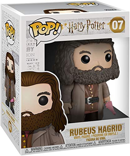 Funko Pop! Movies Harry Potter - Rubeus Hagrid #07 (15cm) Vinyl Figure, Multicolor, Standard (5864)