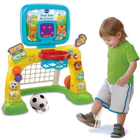 Bright Colors and Cute Design Electronic Smart Shots Sports Center, 50+ Songs, Multicolor by VTech (Image #3)