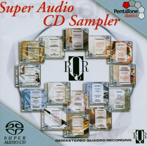 SACD : Super Audio RQR Recordings CD Sampler / Various (Hybrid SACD)
