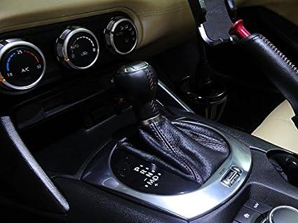 RedlineGoods Fiat 124 Spider 2015-16 bota/funda para palanca de cambios AUTO de