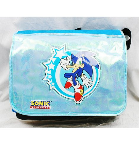 Messenger Bag - Sonic the Hedgehog - Shiny New School Book Bag sh10846 Accessory Innovations
