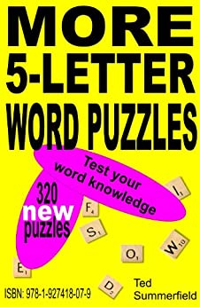 5 letter word puzzle more 5 letter word puzzles kindle edition by ted 10097