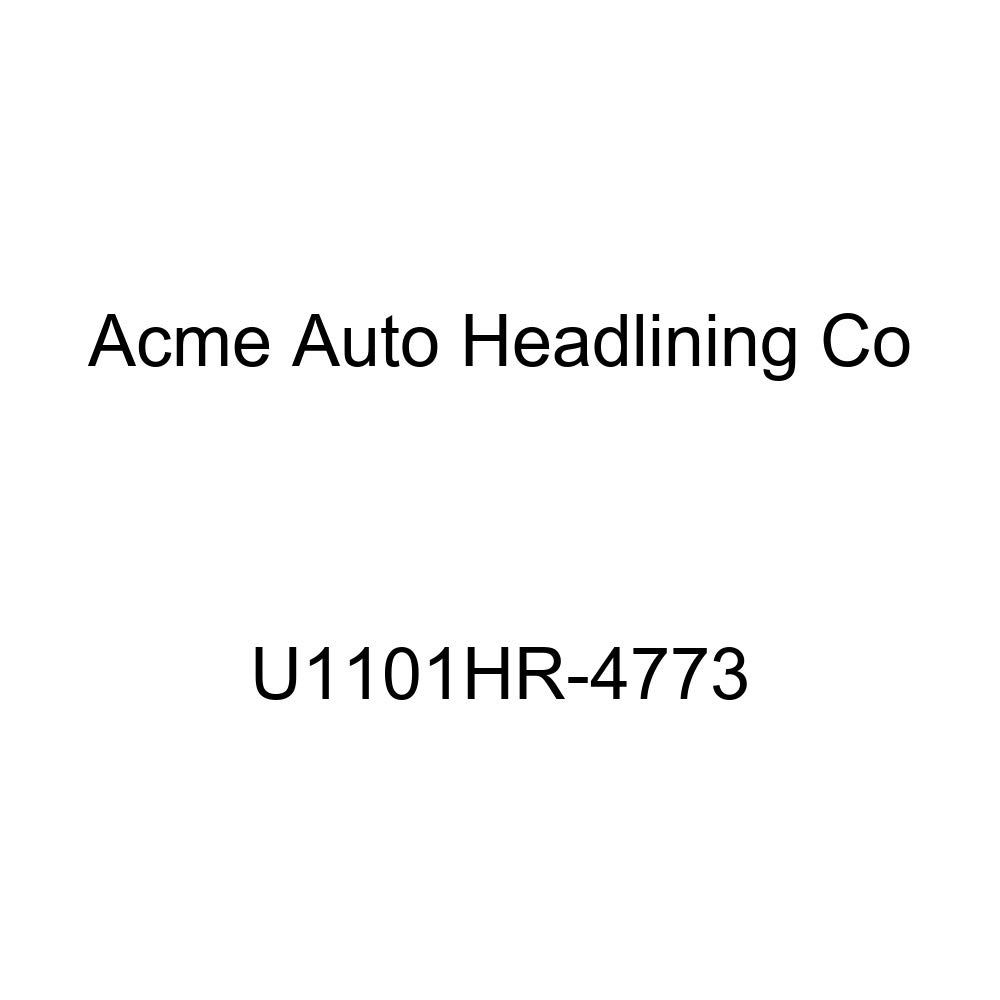 Acme U1101HR-4773 Front Saddle Vinyl Bench Seat Upholstery with Headrest Cover