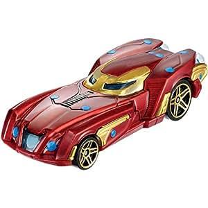 Mattel Hot Wheels BDM71 - 1:64 Coches Marvel caracteres ordenados