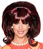 Rubie's Women's Miss Conception Wig, Brown/Black, One Size