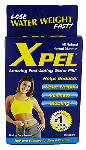 Xpel Maximum Strength Drug Free Herbal Diuretic, 20 Tablets