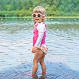 i Play Girls Swim Diaper Watercolor Floral-12 Months