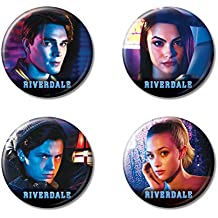 "Ata-Boy Riverdale Set of 4 1.25"" Collectible Buttons"