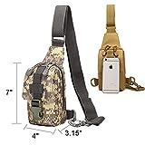 Tactical Sling backpack, Hoanan Outdoor Shoulder