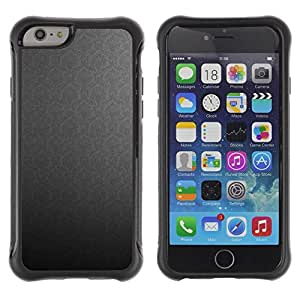 "Hypernova Defender Series TPU protection Cas Case Coque pour Apple Iphone 6 PLUS 5.5 [Textura Gray""]"