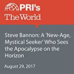 Steve Bannon: A 'New-Age, Mystical Seeker' Who Sees the Apocalypse on the Horizon |  The World Staff