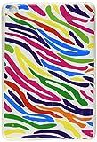 MYBAT  Unique Protective Case for iPad Mini,  (Colorful Zebra Skin/White)