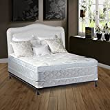Spring Solution 10 Pillowtop Eurotop Fully Assembled Othopedic Mattress and 4 SplitBox Spring, Twin