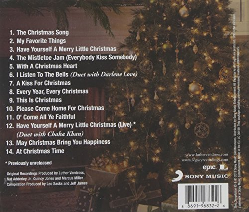Luther Vandross - The Classic Christmas Album - Amazon.com Music