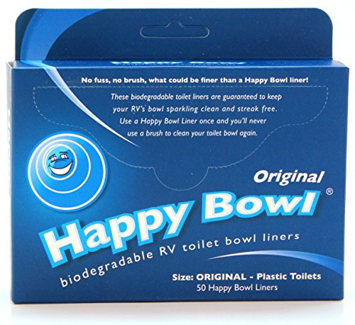 Happy Bowl Biodegradable Toilet Bowl Liners (Original) (Original Trailer For Halloween)