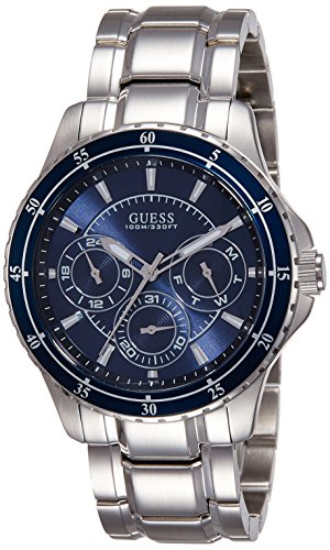 Amazon.com: Guess Mens Analogue Quartz Watch with Stainless Steel Strap W0670G2: Watches