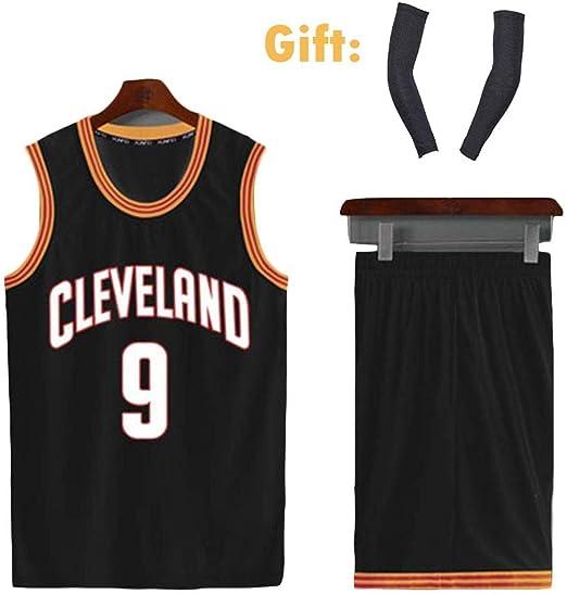 Trajes De Uniforme De Baloncesto De Cleveland Cavaliers # 9 Dwyane ...
