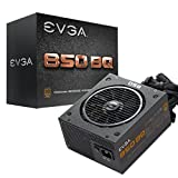 EVGA 850 BQ, 80+ Bronze 850W, Semi Modular, 5 Year Warranty, Includes Free Power On Self Tester, Power Supply 110-BQ-0850-V1