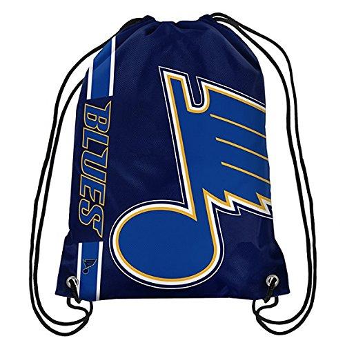 (St. Louis Blues Big Logo Drawstring Backpack)