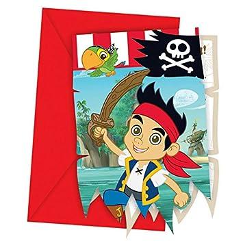 Schön Jake Und Die Nimmerland Piraten   Einladungskarten