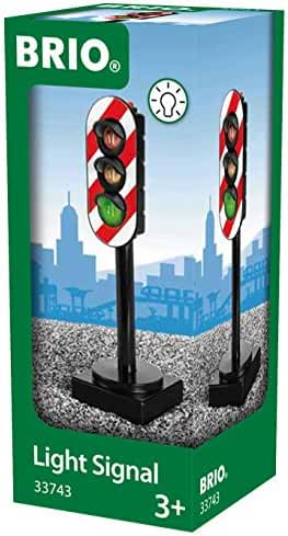BRIO Light Signal Train Set