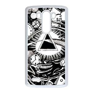 LG G3 Cell Phone Case White Pink Floyd LEJ Phone Case Maker