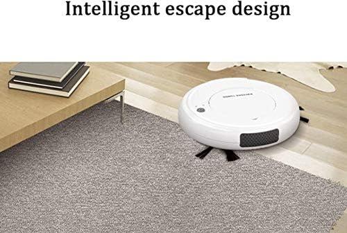 Xiaoyue Robot Balai aspirateur avec système de Navigation Intelligente 3-en-1 Mince Anti Chute for Cheveux Pet, Hard Floor, Tapis Moyen Pile lalay
