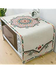 Microwave Oven Cover Dust Cover Cloth Microwave Cover Cloth Cover Towel Oven Hood 100 35cm
