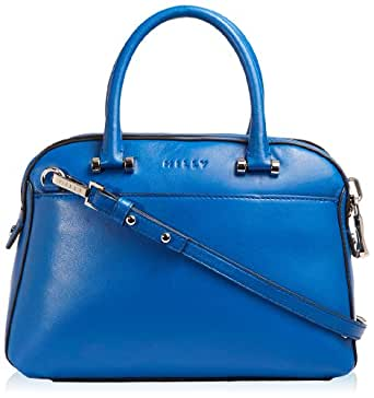 MILLY Blake Small Satchel Top Handle Bag,Blue,One Size