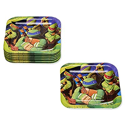American Greetings Teenage Mutant Ninja Turtles (TMNT) Party Supplies, Party Paper Dessert Plates (8-Count): Toys & Games