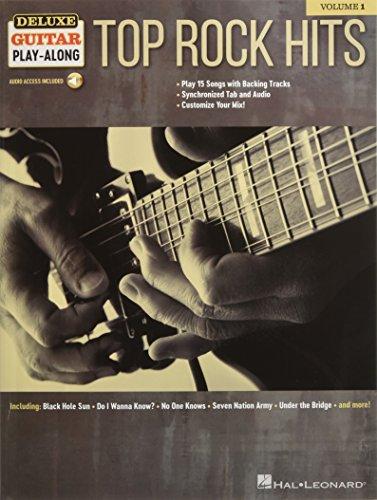 Ash Deluxe Guitar - Top Rock Hits: Deluxe Guitar Play-Along Volume 1 Bk/Online Audio