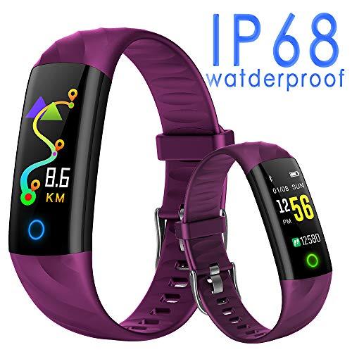 스마트 감시 활동 량 계 심장 박동수 보수계 LINE Twitter SNS 수신 SMS 알림 IP68 방수 잠 관리 영구 일본어 앱 / Smart Watch Activity Meter Pedometer Pedometer LINE Twitter SNS Incoming SMS Notification IP68 Waterproof Sleep Management ...