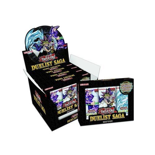 Duelist Pack Box - Yu-Gi-Oh! 14687D Duelist Saga Display Box (Pack of 5)