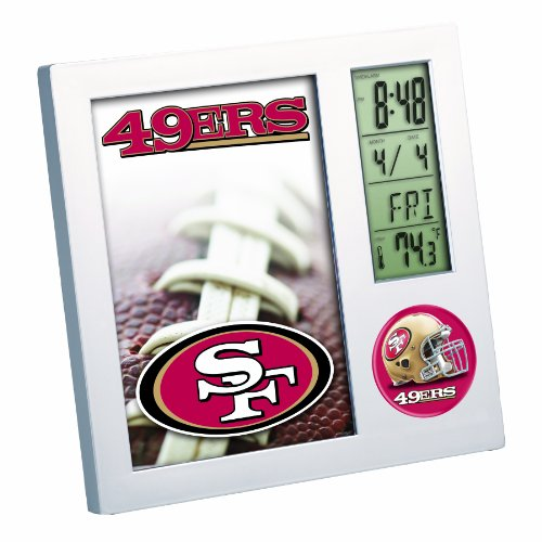 49ers Desk Clocks San Francisco 49ers Desk Clock 49ers