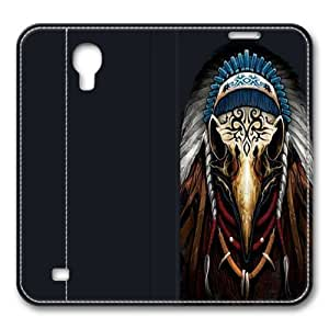 Eagle Spirit Chief Smart Case Cover with Back Case for Samsung Galaxy S4/I9500