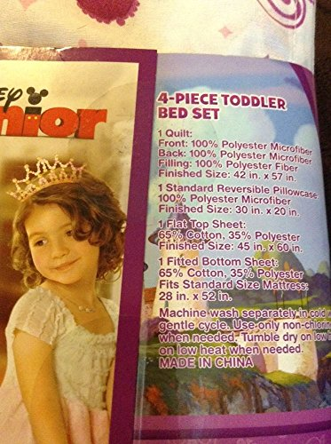 New Girls Disney Princess Sofia The First 4pc Toddler