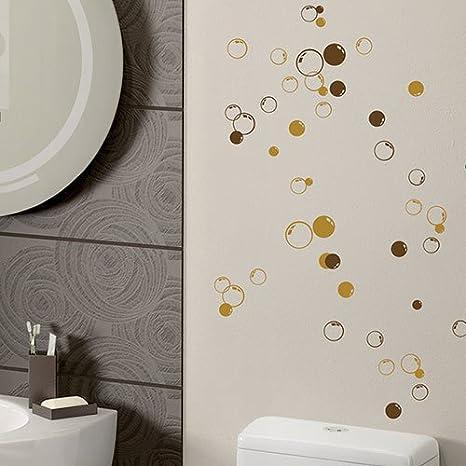 Colourful sticker - Adesivo da bagno, motivo: 58 bolle, ideale per ...