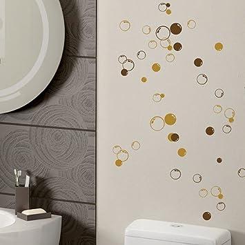 Wandbilder Badezimmer   58 Bubbles Wandbild Badezimmer Fenster Dusche Fliesen Dekorationen