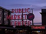 Photography Poster - Public Market Center Seattle Washington 24 X 18