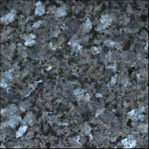 "HandyCT 4""x2"" Blue Pearl from Norway Color Sample Natural Granite Used for Granite Kitchen or Bathroom Countertops or Tile"